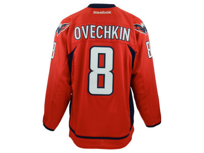 Washington Capitals Alexander Ovechkin Reebok NHL Premier Player Jersey