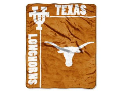 Texas Longhorns 50x60in Plush Throw Blanket