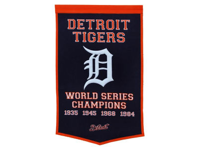Detroit Tigers Winning Streak Dynasty Banner