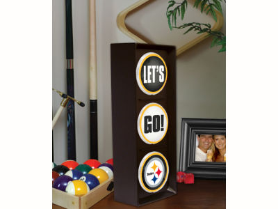 Pittsburgh Steelers Flashing Lets Go Light