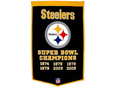 Pittsburgh Steelers Dynasty Banner