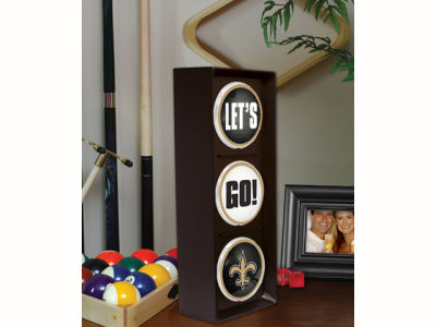 New Orleans Saints Flashing Lets Go Light