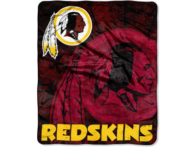 Washington Redskins 50x60in Plush Throw Roll Out