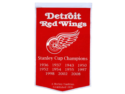 Detroit Red Wings Winning Streak Dynasty Banner