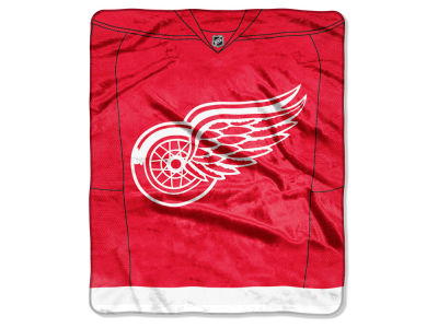Detroit Red Wings 50x60in Plush Throw Jersey