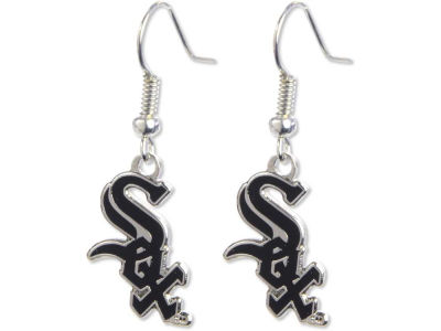 Chicago White Sox Logo Earrings