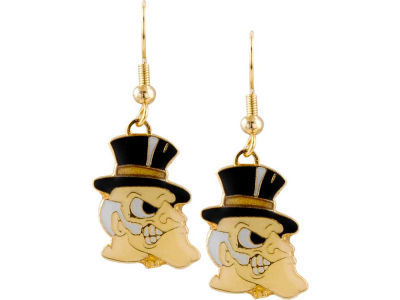 Wake Forest Demon Deacons Logo Earrings