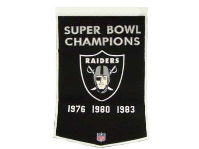 Oakland Raiders Winning Streak Dynasty Banner
