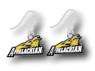 Appalachian State Mountaineers Logo Earrings