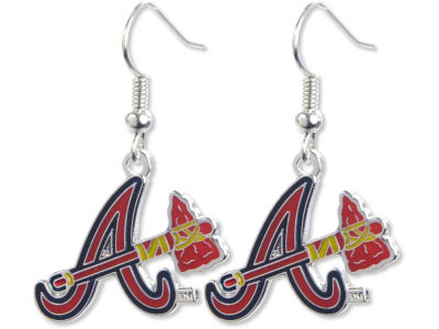 Atlanta Braves Logo Earrings
