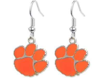 Clemson Tigers Logo Earrings