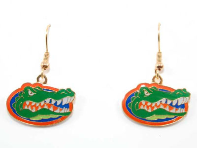 Florida Gators Logo Earrings