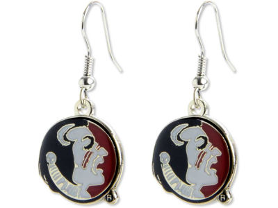 Florida State Seminoles Logo Earrings