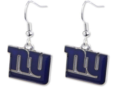 New York Giants Logo Earrings