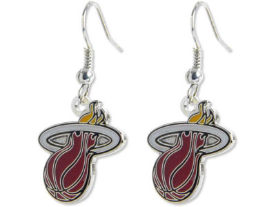 Miami Heat Logo Earrings