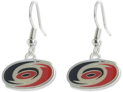 Carolina Hurricanes Logo Earrings