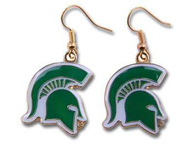 Michigan State Spartans Logo Earrings