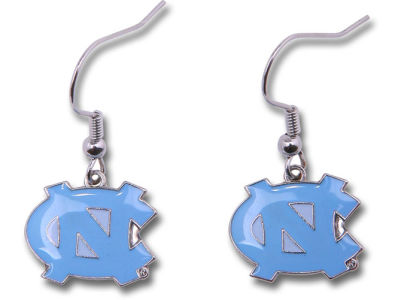 North Carolina Tar Heels Logo Earrings