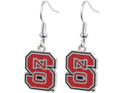 North Carolina State Wolfpack Logo Earrings