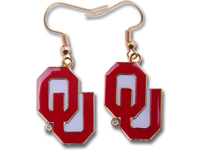 Oklahoma Sooners Logo Earrings