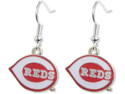 Cincinnati Reds Logo Earrings