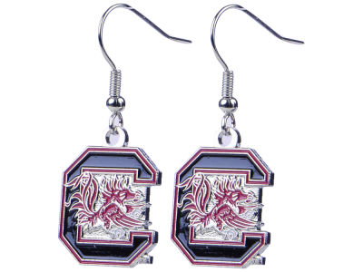 South Carolina Gamecocks Logo Earrings