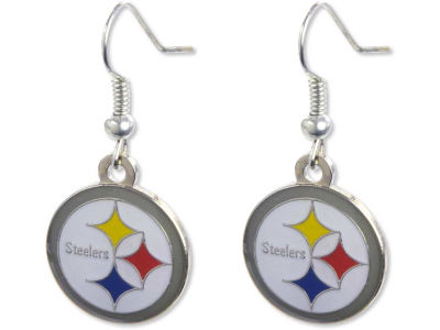 Pittsburgh Steelers Logo Earrings