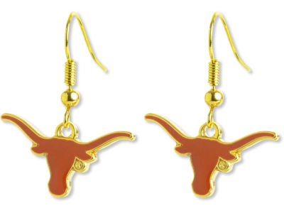 Texas Longhorns Logo Earrings