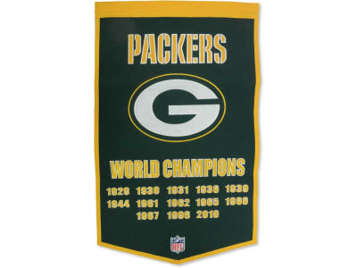Green Bay Packers Winning Streak Dynasty Banner