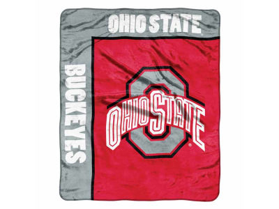 Ohio State Buckeyes 50x60in Plush Throw Blanket