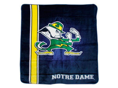 Notre Dame Fighting Irish 50x60in Plush Throw Blanket