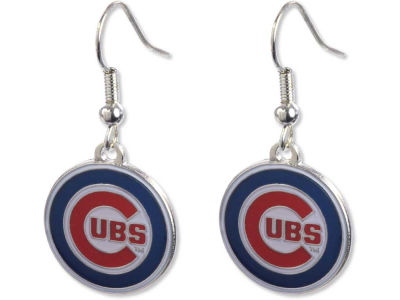 Chicago Cubs Logo Earrings