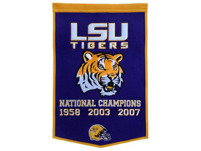 LSU Tigers Winning Streak Dynasty Banner
