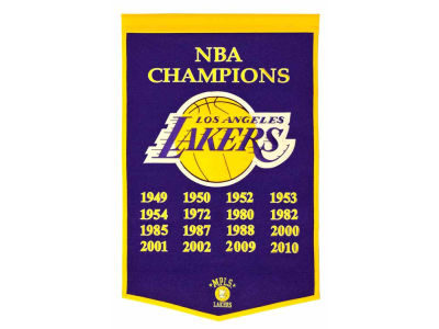 Los Angeles Lakers Winning Streak Dynasty Banner