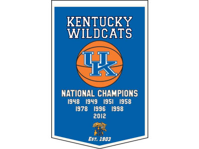 Kentucky Wildcats Winning Streak Dynasty Banner