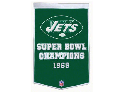 New York Jets Winning Streak Dynasty Banner