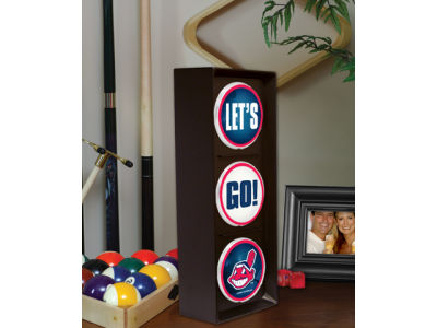 Cleveland Indians Flashing Lets Go Light