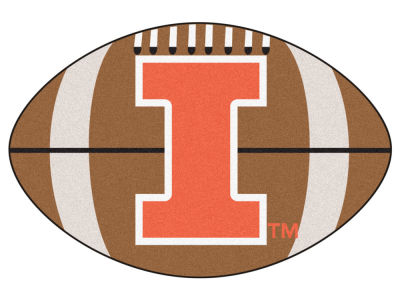 Illinois Fighting Illini Football Mat