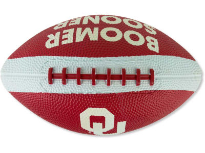 Oklahoma Sooners Mini Rubber Football
