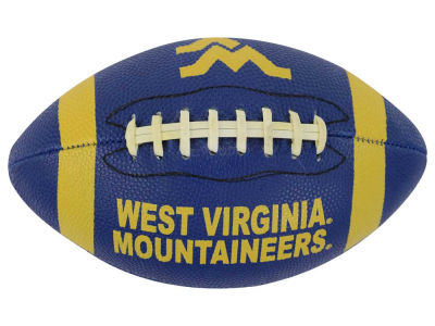 West Virginia Mountaineers Mini Rubber Football