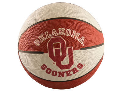 Oklahoma Sooners Mini Rubber Basketball