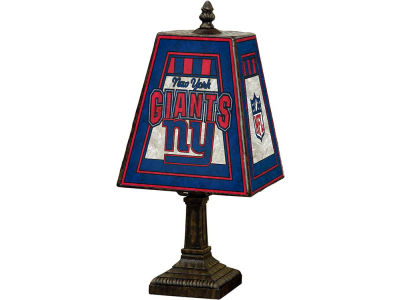 New York Giants Art Glass Table Lamp