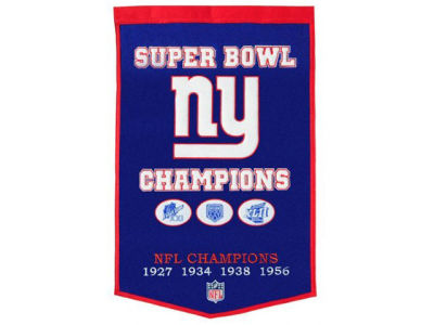 New York Giants Winning Streak Dynasty Banner