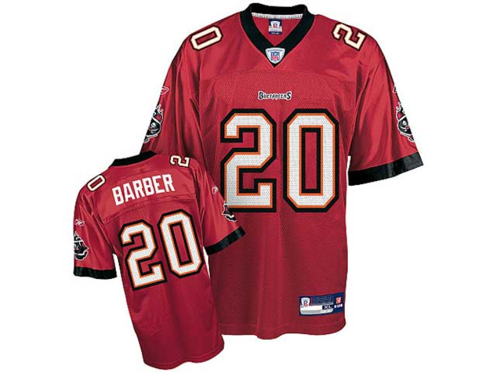 61a8e34cb Tampa Bay Buccaneers Ronde Barber Reebok NFL Youth Replica Jersey ...