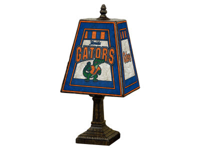 Florida Gators Art Glass Table Lamp