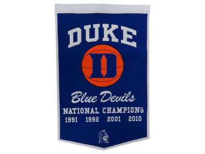 Duke Blue Devils Winning Streak Dynasty Banner