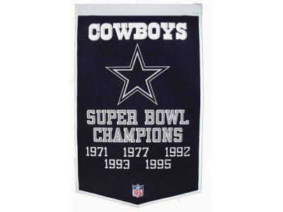Dallas Cowboys Winning Streak Dynasty Banner