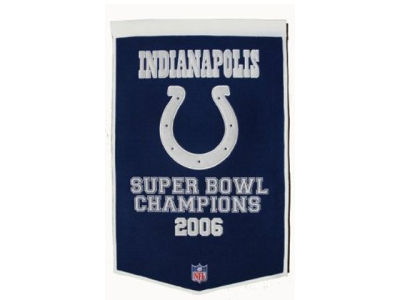 Indianapolis Colts Winning Streak Dynasty Banner