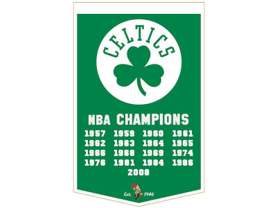 Boston Celtics Winning Streak Dynasty Banner