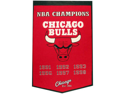 Chicago Bulls Winning Streak Dynasty Banner